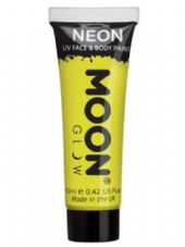 Moon Glow UV Body & Face Paint in Intense Yellow